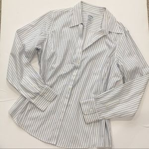 Brooks Brothers Fitted Non-iron shirt Sz 16